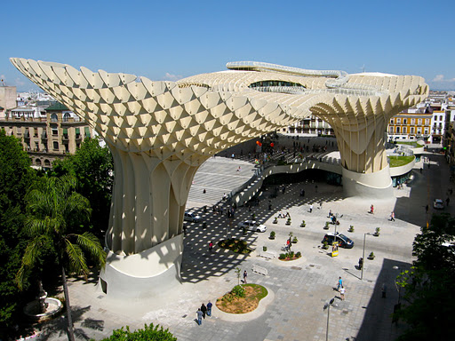 experimenting in public metropol parasol seville by j rgen mayer h criticalista. Black Bedroom Furniture Sets. Home Design Ideas