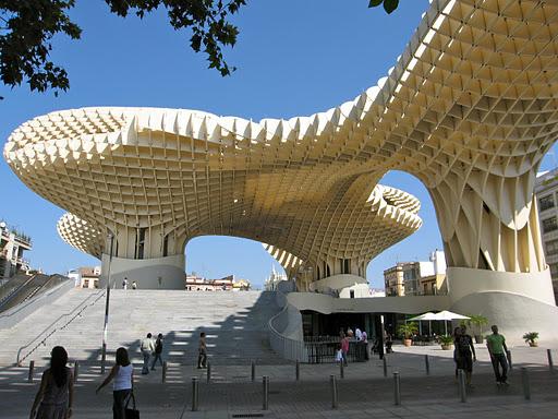 Experimenting in Public: Metropol Parasol, Seville, by Jürgen ...