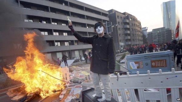 ECB protest