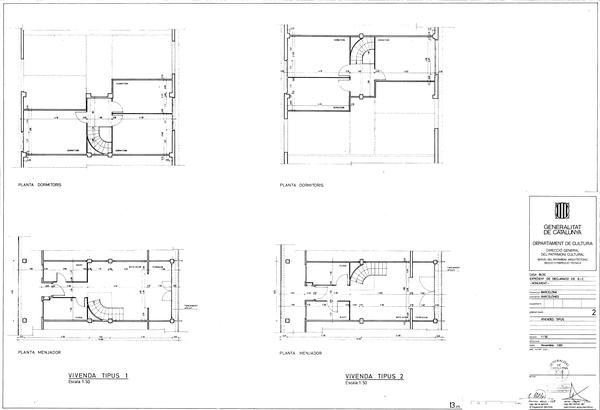 Casa Bloc Unit Plans